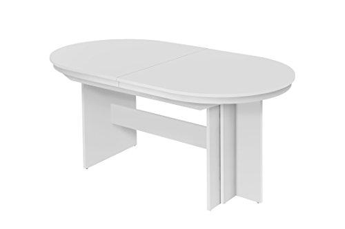 Esstisch ausziehbar oval  Intertrade 001282 – Esstisch ausziehbar bis 14 Personen, 160-310 x ...