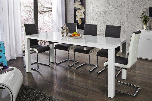 Invicta Interior Esstisch ausziehbar weiß, 160-240 cm