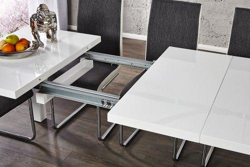Invicta Interior Esstisch ausziehbar weiß, 160-240 cm | Ausziehbare ...