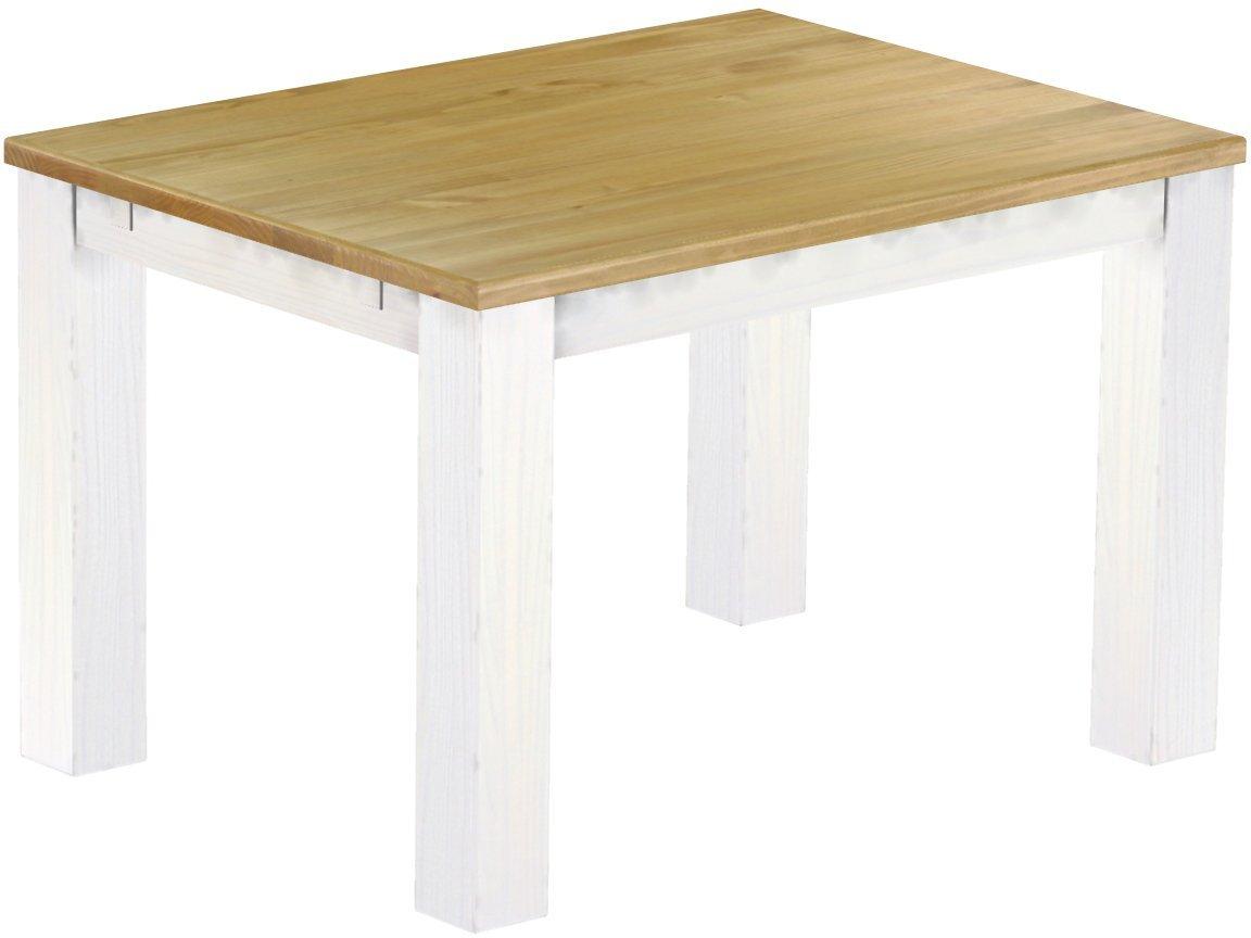 Entzückend Säulentisch Massivholz Foto Von Brasilmöbel Esstisch Rio Classico; 120-220 X 90