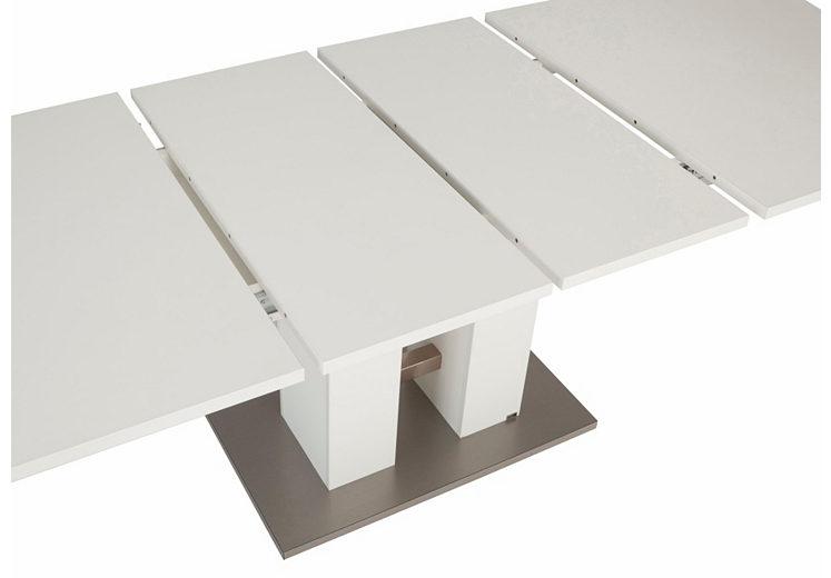 Esstisch weiß 160 ausziehbar  set one by Musterring Esstisch ausziehbar weiß »Reno« , 160-240 cm ...