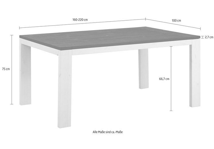 Masse fur esstische for Vitra stuhl nachbildung