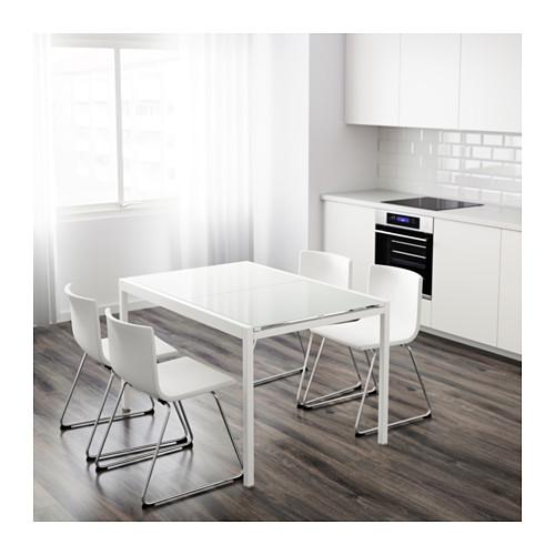 IKEA Glivarp Glas Ausziehtisch Weiss Modell 2017