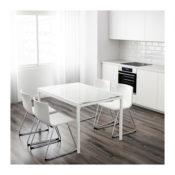 IKEA glivarp Glas ausziehtisch weiß Modell 2017