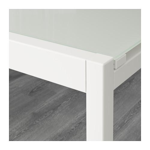 Esstisch rund ausziehbar ikea  Ikea Glastisch GLIVARP ausziehbar – 125/188 cm x 85 cm ...