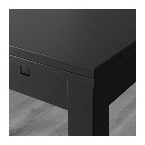 ikea esstisch bjursta 140 x 84 cm ausziehbar. Black Bedroom Furniture Sets. Home Design Ideas