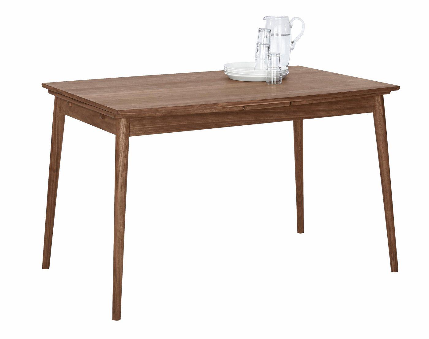 Esstisch in skandinavischem Design »Curve«, walnuß, Breite 122 cm, in Bootsform