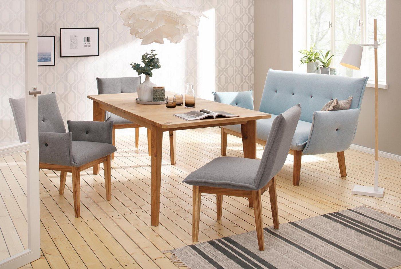 Home affaire Tisch »Libra«, ausziehbar von 160 auf 200 cm