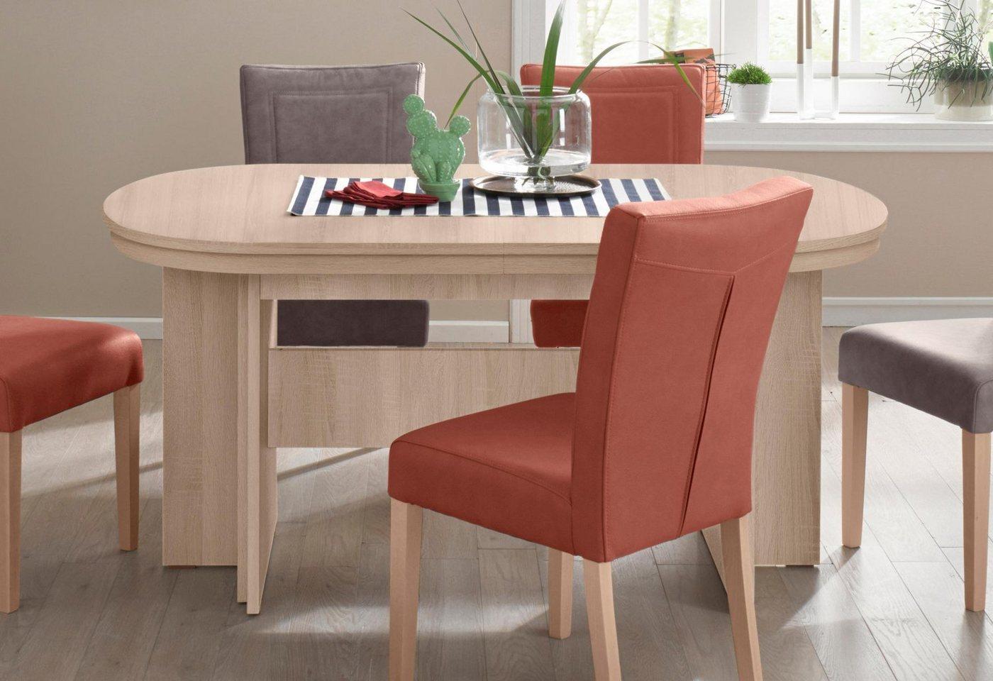 ovaler kulissen esstisch 160 92 cm in 4 farben maximal. Black Bedroom Furniture Sets. Home Design Ideas