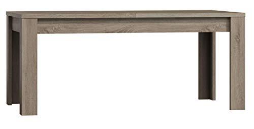 Movian Elsa Ausziehbarer Esstisch, 160-200cm, Canyon-Eiche Optik